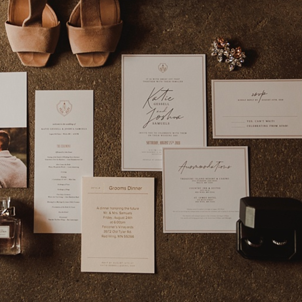 The Classiest farm wedding I've Ever seen - Everything about Katie & Josh's wedding day will have you wishing you were there!See Their Wedding Brand >>