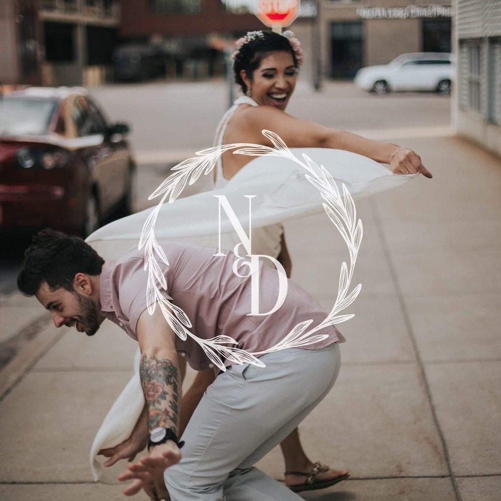 Nora & Doug Barber   Cancun, Mexico | Wedding Branding