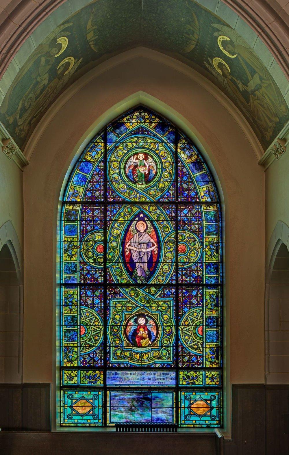 Peace Window after restoration