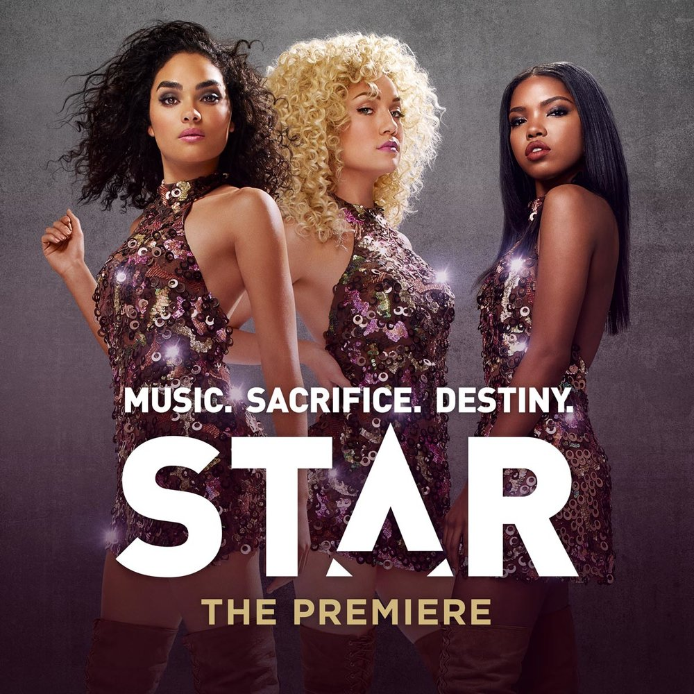 "APLUS write's "" Heartbreak "" and "" Higher "" for season 1 of Fox's new hit series,  STAR . (Available on iTunes)"
