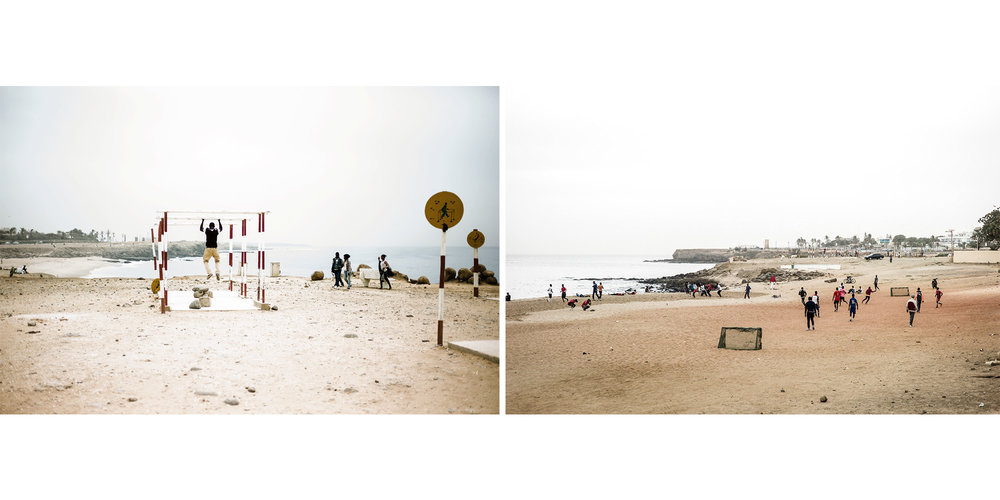 Cour de Cassation Beach, Senegal (Series) / Personal Work
