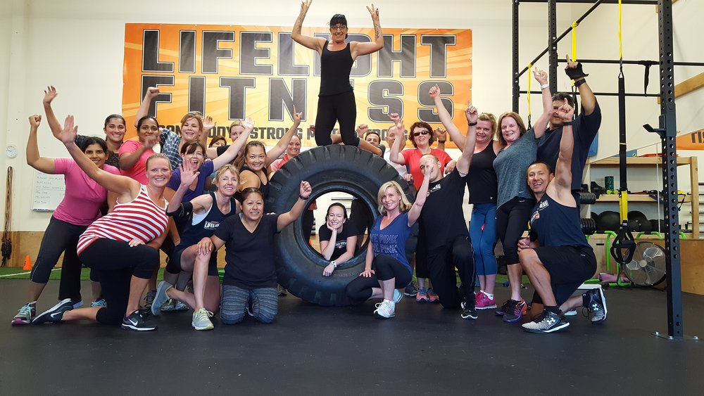 Lifelight Fitness Family #LifelightTribe . Lifelighters displaying that after-workout glow and shine!