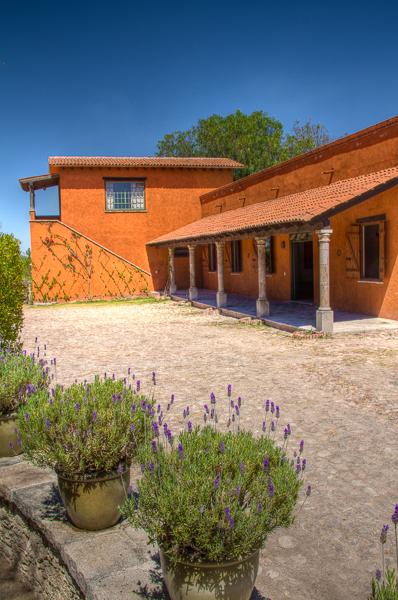 Terraza exterior del salón