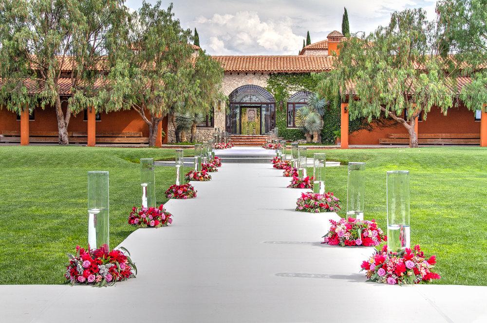Copy of Copy of Pasillo de la recepción a la casa