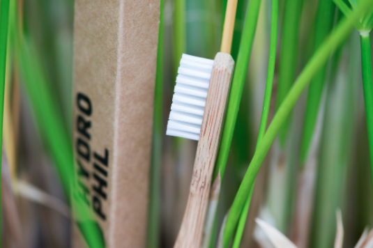 Bamboo toothbrush  BPA-free and vegan