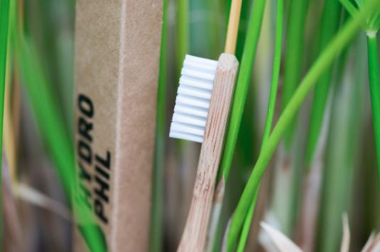 Bamboo toothbrush  BPA-free and vegan