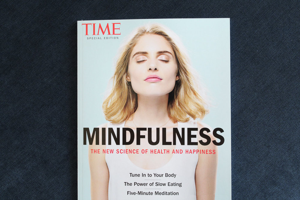 An incredible Time Inc. special edition issue focused entirely on the science behind mindfulness. It's available until May 25th.
