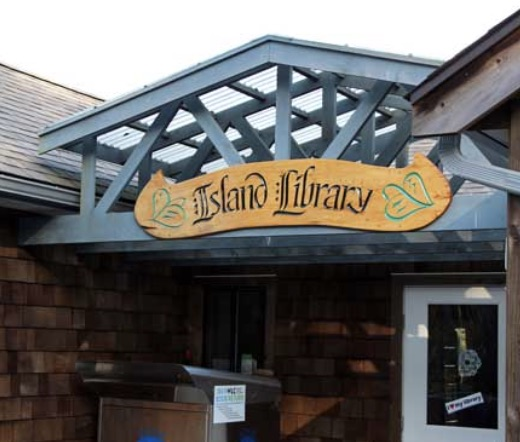 Community Contribution: - Participants will give back to the community by bringing an item from the Island Library