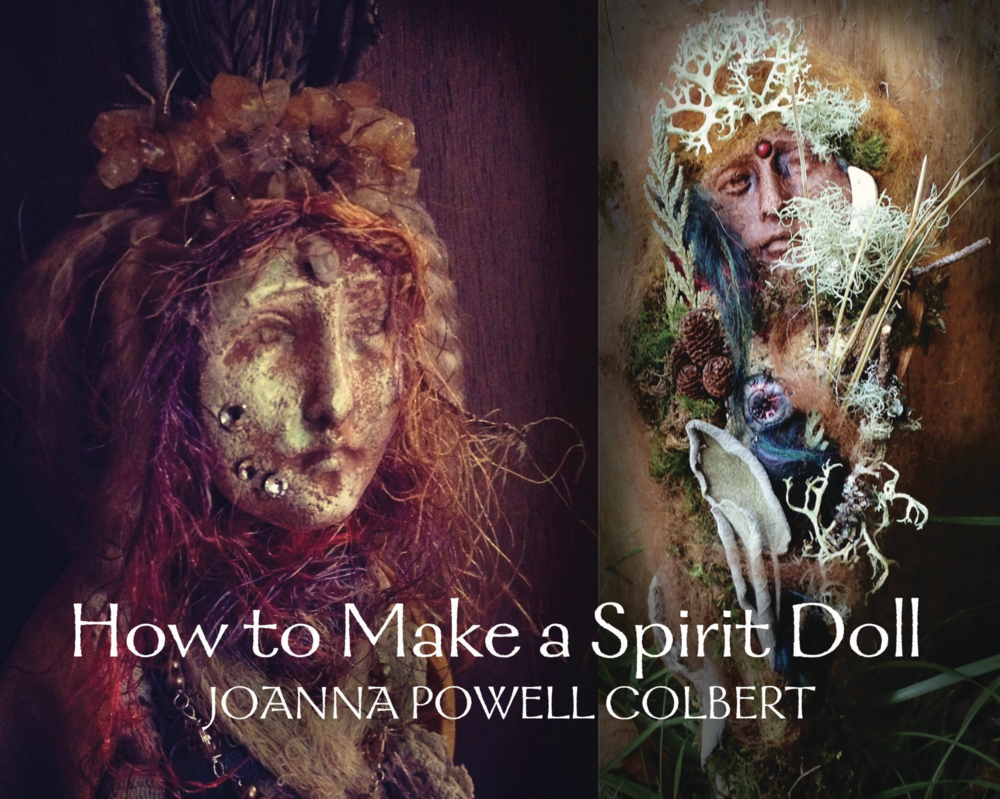 - Joanna generously shares a gift with you: a guide to making your own spirit doll.  It is free to download and share.