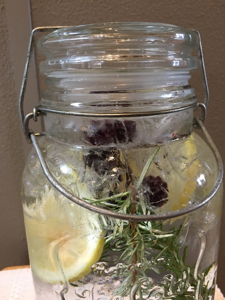 Infused water all day