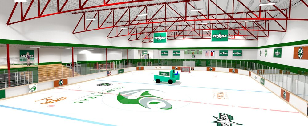 Chaparral Is hitting the Ice IN a big way! - Construction is Done!