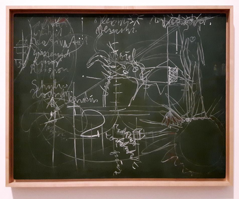 Joseph Beuys, Zu dem Vortrag: Der Soziale Organismus - ein Kunstwerk, Bochum, 02.03.1974 .
