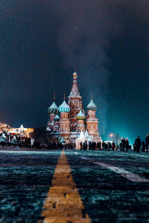 La cathédrale de Basilius a été construite à l'origine par Ivan IV lors de la répression des Mongols au XVIe siècle. Photographie par Nikita Karimov