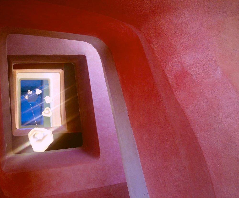 Goetheanum, cage d'escalier