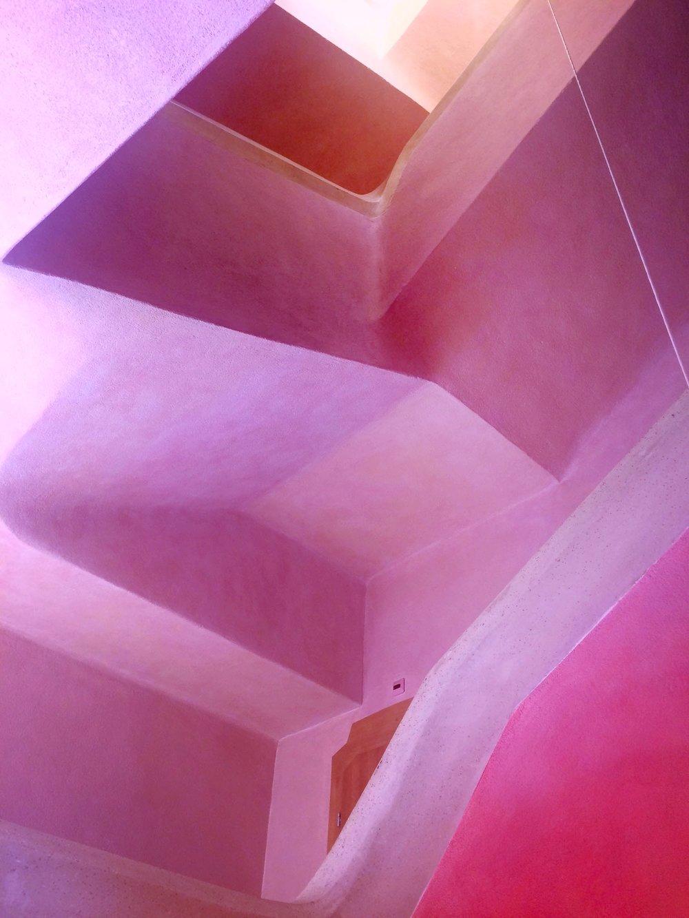 Goetheanum, cage d'escalier sud