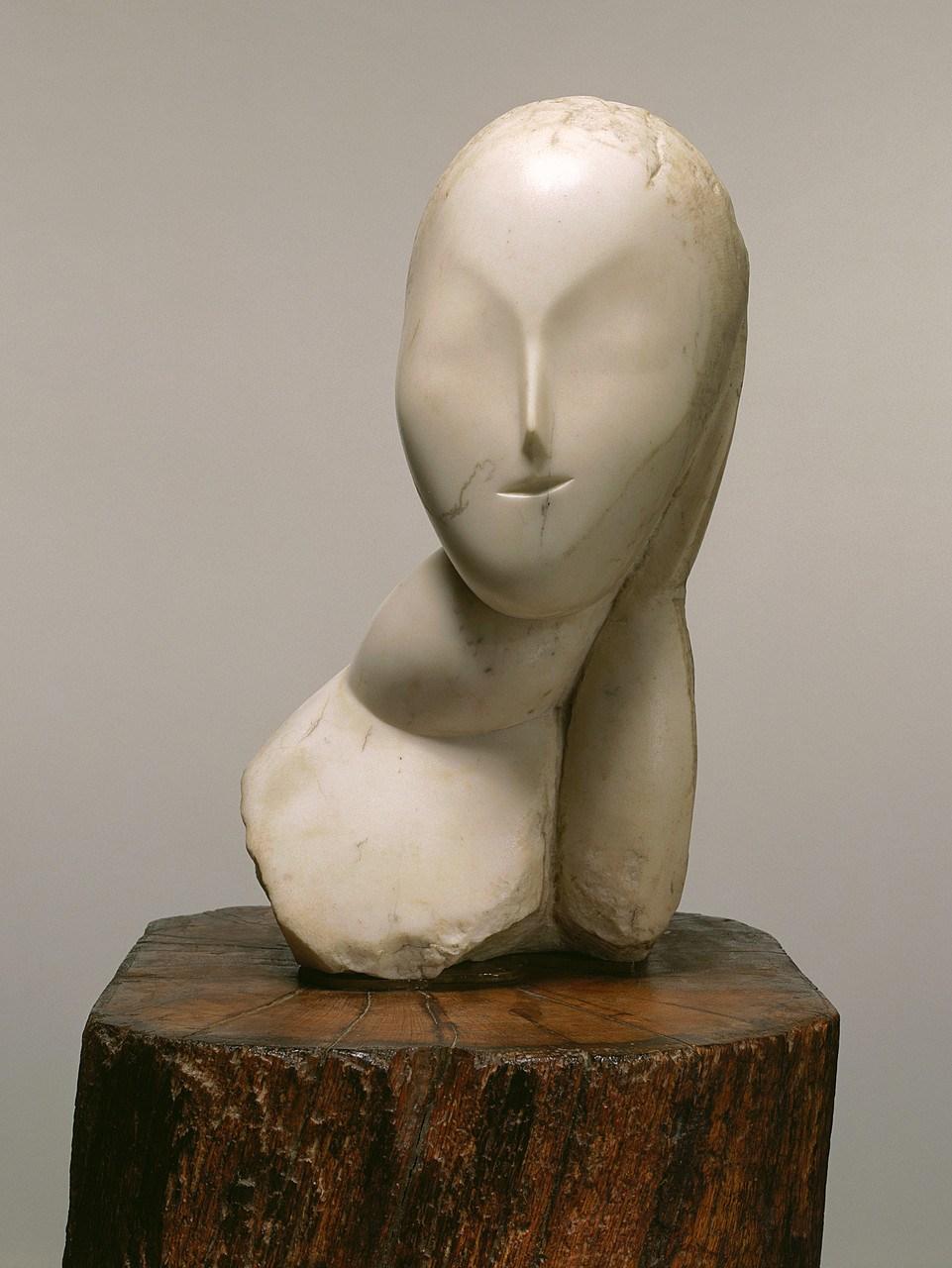 Constantin Brancusi,  La Muse , 1912