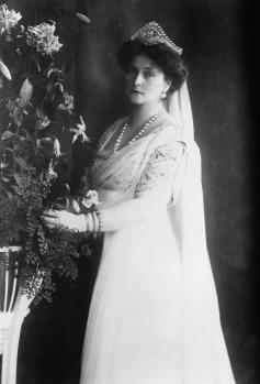 Alexandra Fedorovna (1872-1918), née Alix de Hesse-Darmstadt, petite-fille de la reine Victoria