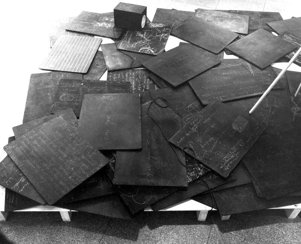 Joseph Beuys,  Forces directrices (d'une nouvelle société)  1974-77