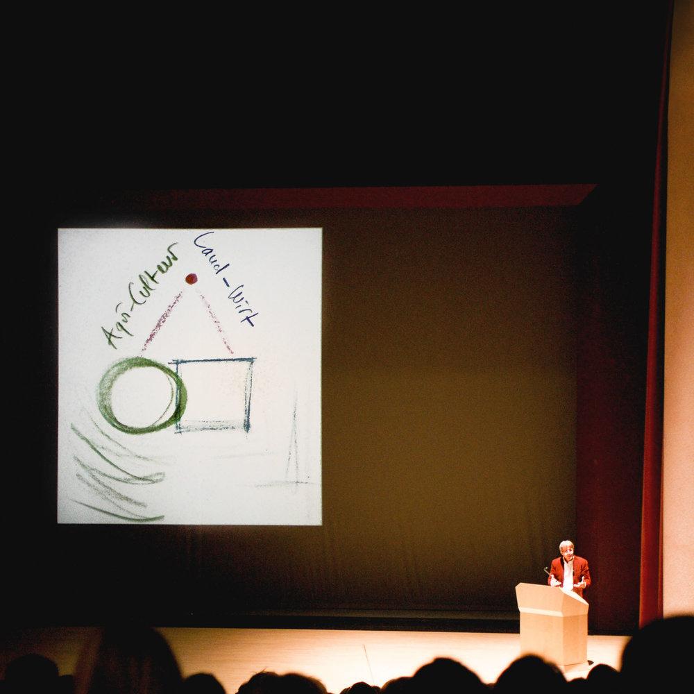 Ueli Hurter, conférence au Goetheanum