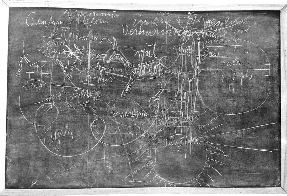 Joseph Beuys,  Sans titre (Sun State) , 1974