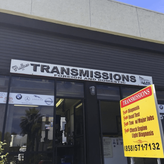 ruffner transmission front entrance