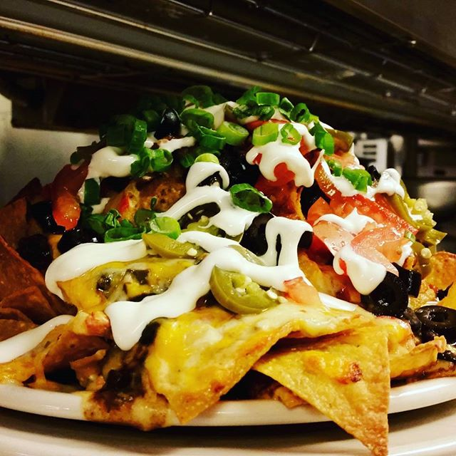 Our Ultimate Nachos just got a little upgrade!  Now with melty queso sauce and house pickled jalapeños!  #cheatday #everyday #nachos #gvb #cheese #foodporn #pdxeats