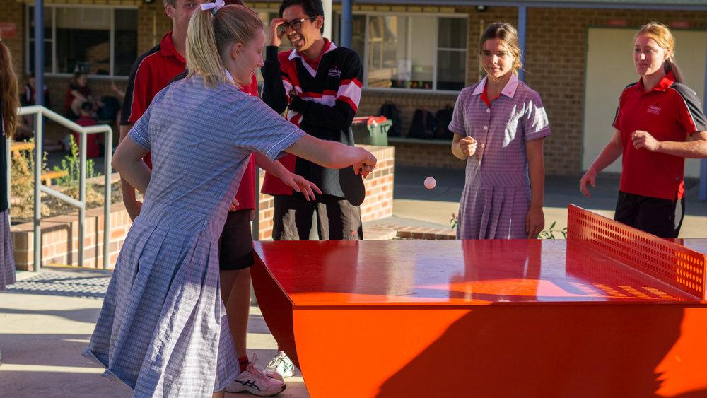 Senior Students playing ping pong.jpg