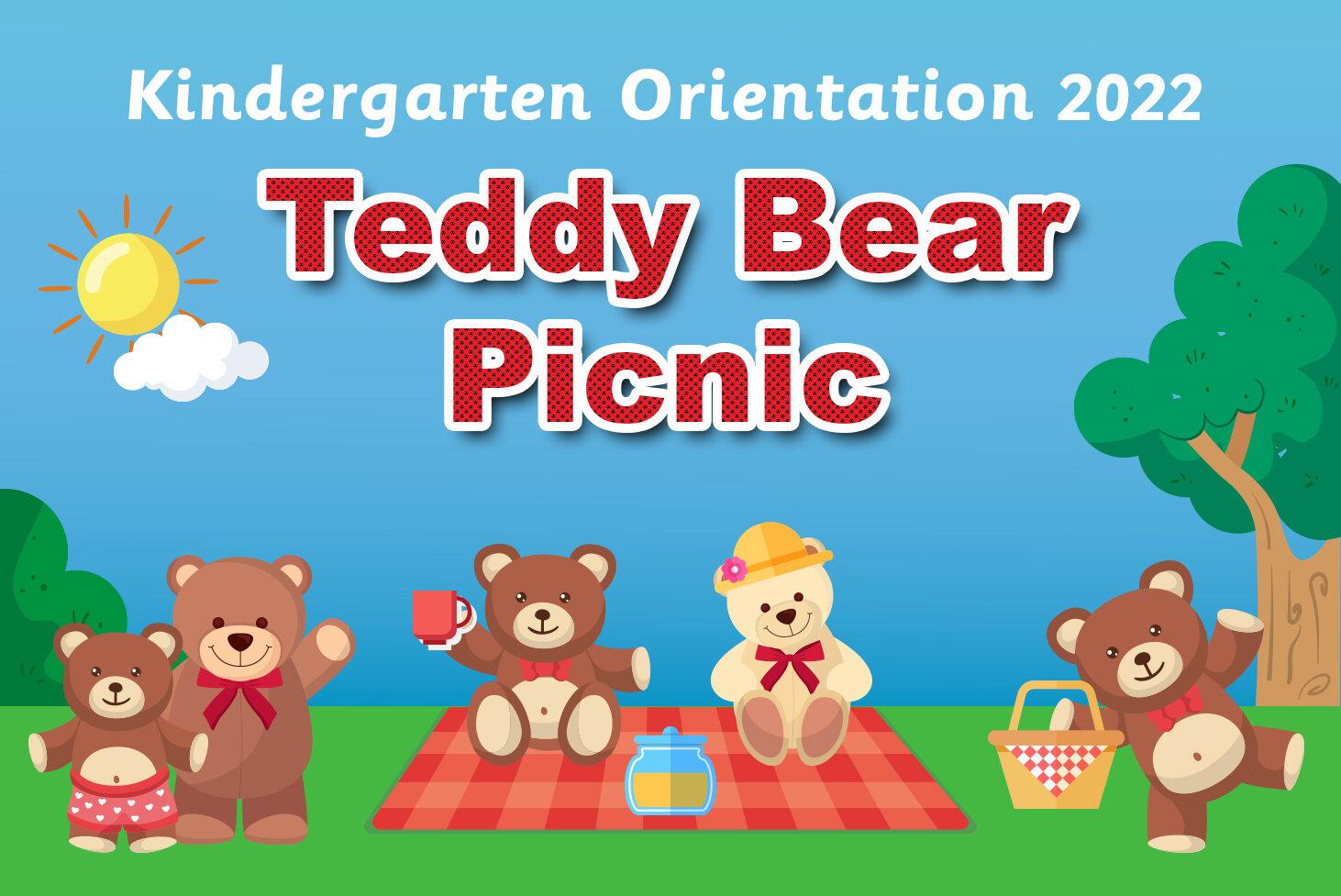Teddy Bear Picnic Kindergarten 2020 Orientation Carinya Christian