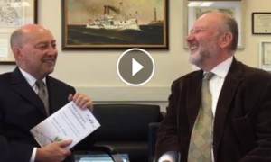 Interview with Adm. (Ret.) James Stavridis, Dean, Tufts Fletcher School, October 2016