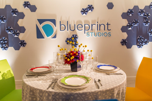Blueprint studios inspires industry with spring into design event blueprint showcase marilyn ambra 9g malvernweather Image collections