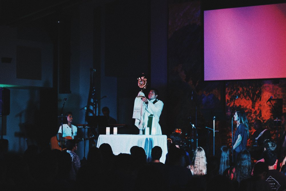 XLT - XLT is a powerful evening of worship, inspiring message, and Adoration. All are welcome to join us for food at 6:30PM and worship, adoration, and reconciliation.