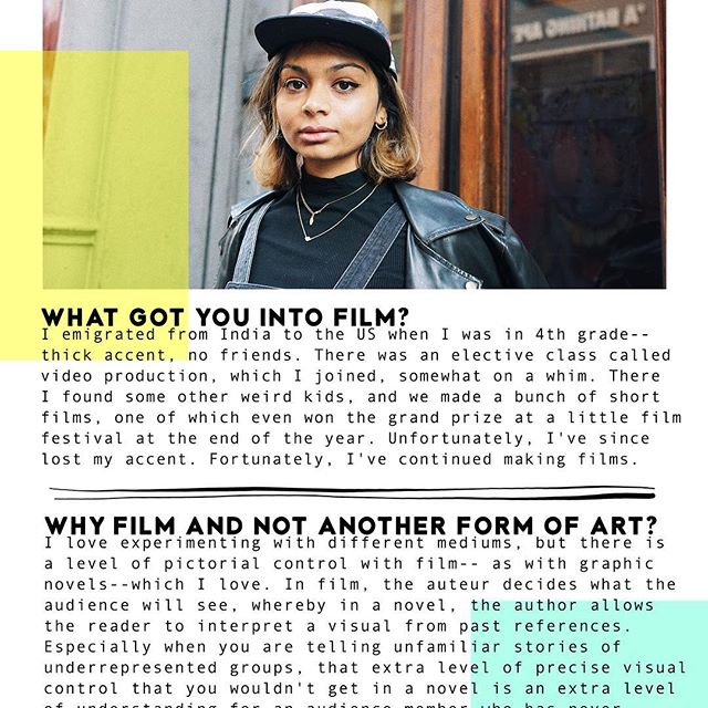 Learn about Urvashi's political use of film and her views on using VR as a tool for empathy at LaCitizn.com ✨ Photographed and interviewed by @ariciano