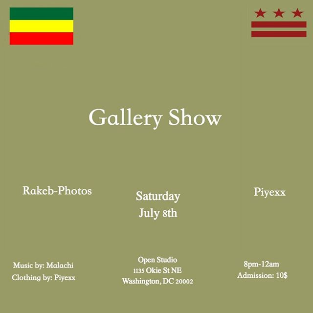 TONIGHT in DC one of our contributing editors and resident artist, @rakebbb , is exhibiting her work! Come ✨✨✨