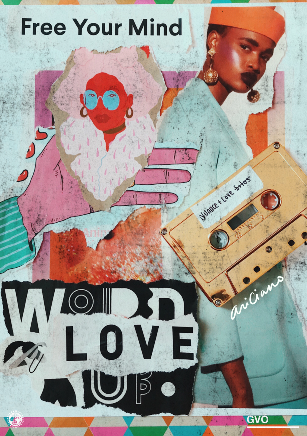 Nuance + Love | No Silos - Ariciano explores an eclectic convening of sonic styles to sculpt an experience of generational, psychological and geographical transportation. A sort of sonic axiology. A dismantle of silos via an exposition of nuance and love.Through this mixtape, Ariciano merges electrofunk, hip house, afrofunk, disco and more.