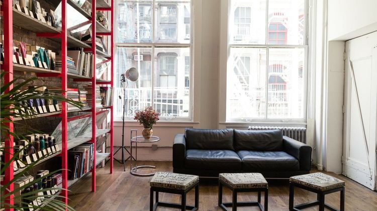 2500 sq/ft airy loft in the heart of soho, nyc