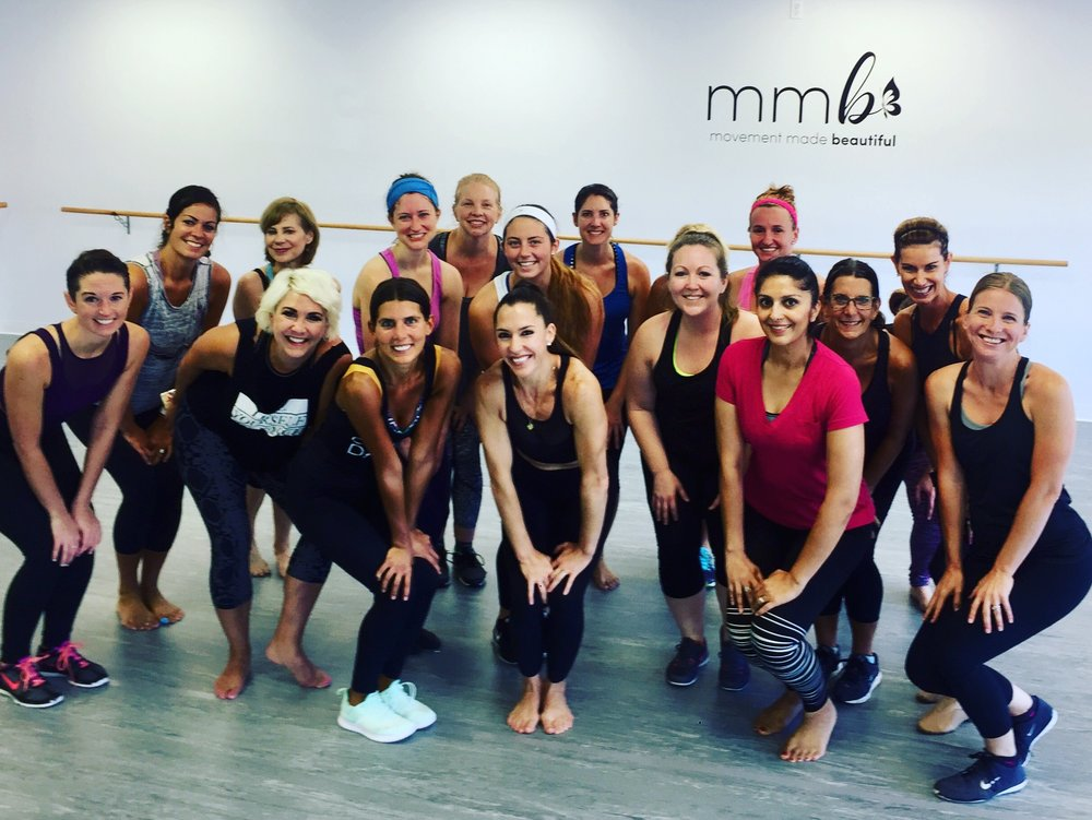 This picture was taking right before our first official Cardio Dance class at MMB on July 1st 2017.  What an amazing opening day that was!  I will never forget how many students showed up for me for this special day.  We rocked that class!  So many memories to be created here.