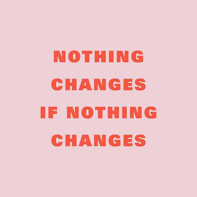 Change is sometimes tough. Letting go of what is normal is often super uncomfortable.  Recognizing that the you from yesterday (or five minutes ago) is different from the you right now can be a bit of a mind fuck. ⠀⠀⠀⠀⠀⠀⠀⠀⠀ Currently buckled in tight as things shift and reshape.  Sitting with this one today.  I am not done growing. ⠀⠀⠀⠀⠀⠀⠀⠀⠀ Image thanks to @subliming.jpg  #dothework #embracechange #bigshifts