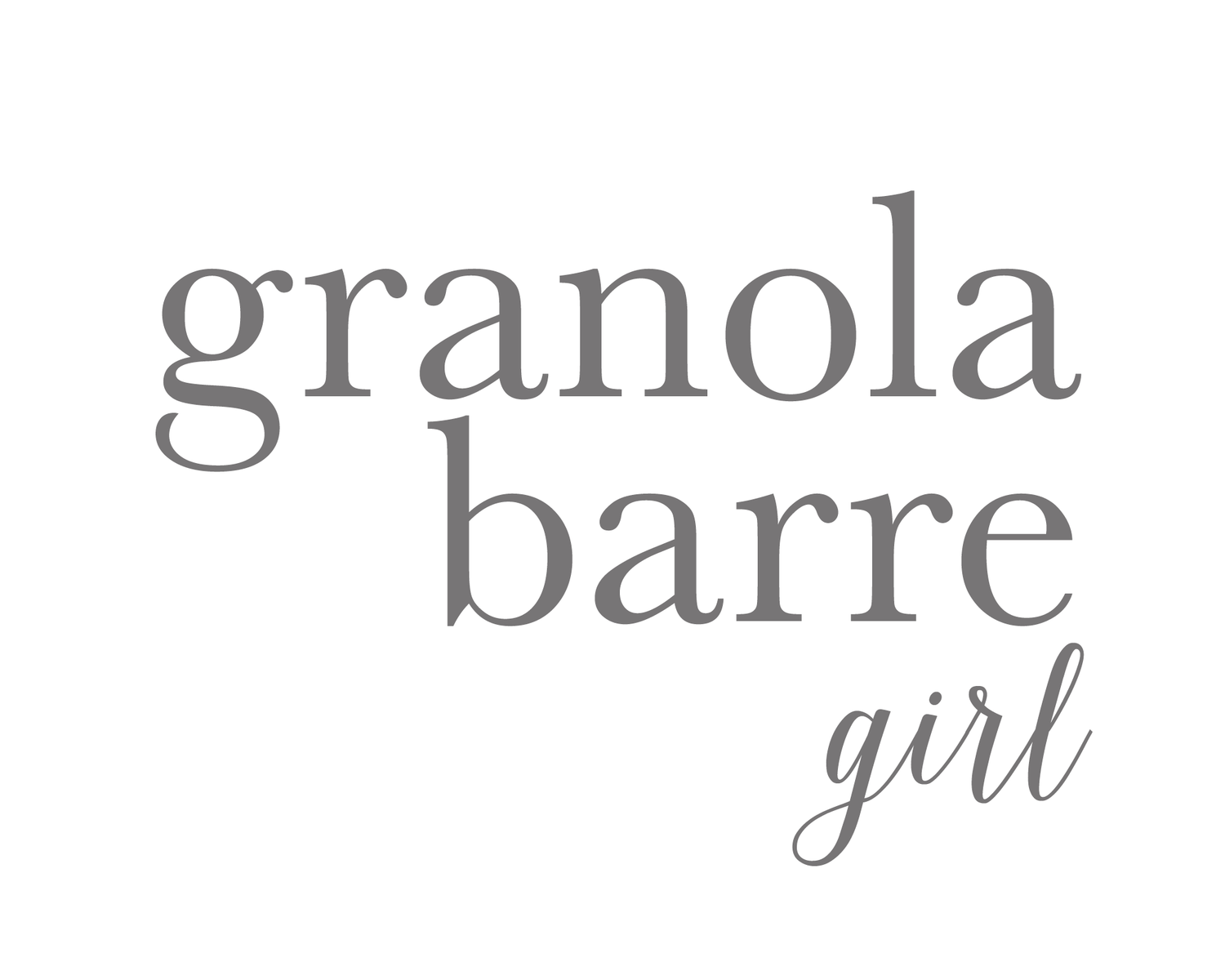 granola barre girl