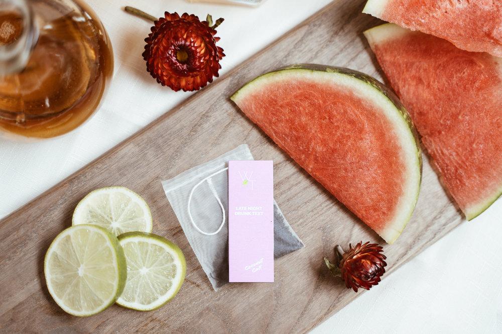 Coconut Watermelon Breeze Tea Cocktail Pic