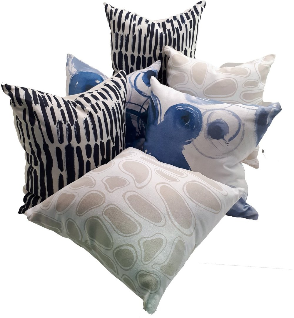 St James Whitting Hemp Gallery Art Cushions