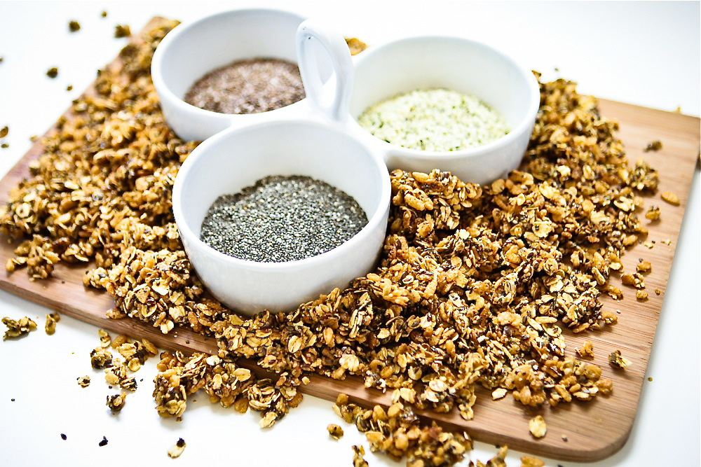 Super Seed Trifecta Muesli recipe on Hemp Gallery Australia