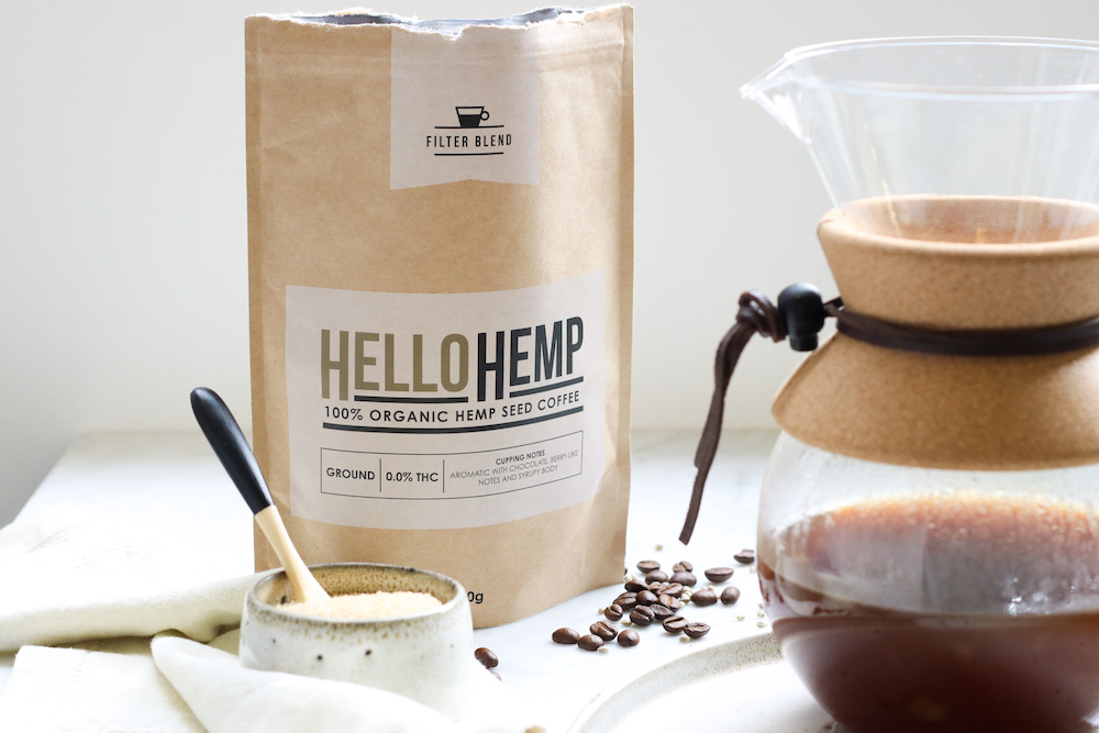 Hemp Coffee available by Hemp Gallery Australia