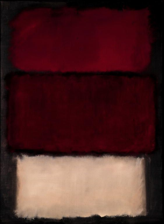 SIGHT/ MARK ROTHKO - Stop, breath, observe, take another breath, and look again. This is how a Rothko should be consumed. Stand close and avail yourself to the large blocks of layered colors. Allow yourself to feel the interaction of tone and how the reds, burgundies, browns harmonize and accentuate one another. The abstract expressionists of the 1950s were not just throwing paint on a canvases and calling it 'Art'; They were reaching toward an aesthetic congruent with a feeling, not a subject.