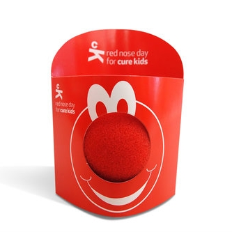 Red nose merchandise   Curekids
