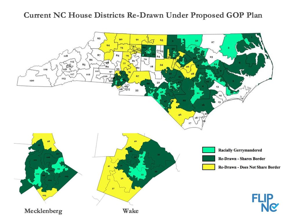 Current NC House Districts Re-Drawn Under Proposed GOP Plan.jpg