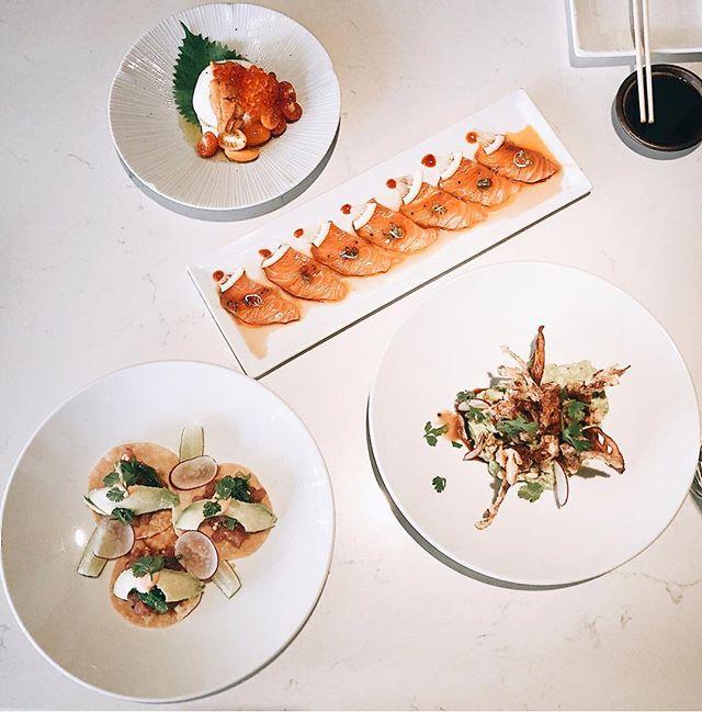 Just some things we got going on . . . . Thannks you @bangcockfoodie99 #sakanadtla #s #downtownla #downtown #dtla #losangeles #eater #eaterla #buzfeedfood #abc7eyewitness #downtownlanews #sushi #japanesefood #tuna #dinela #hypbeast #hypefeast #infatuationla #downtownlabar #bar  #sushibar #lahappyhour #LAsocial #exloredtla #happeningdtla #dtlanews #dtlalunch #zagat
