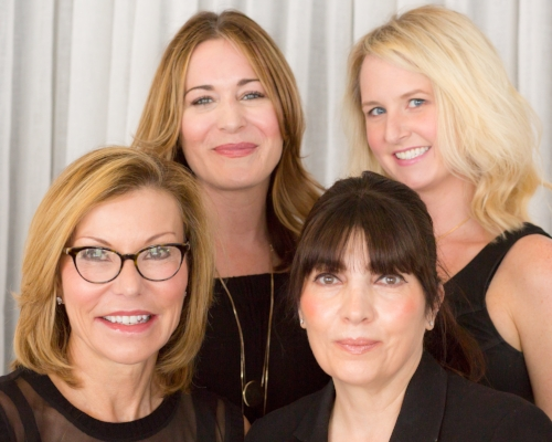 Our fabulous team here at Seaside Aesthetics - myself, Jenn, Patty, and Kelly!