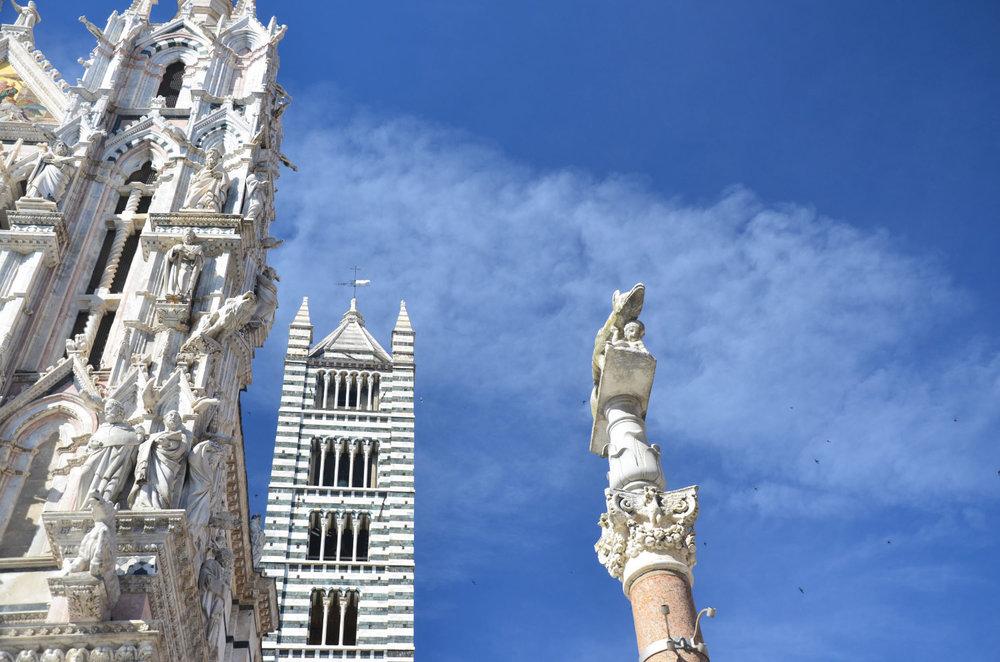 Remus Siena Column Siema Duomo