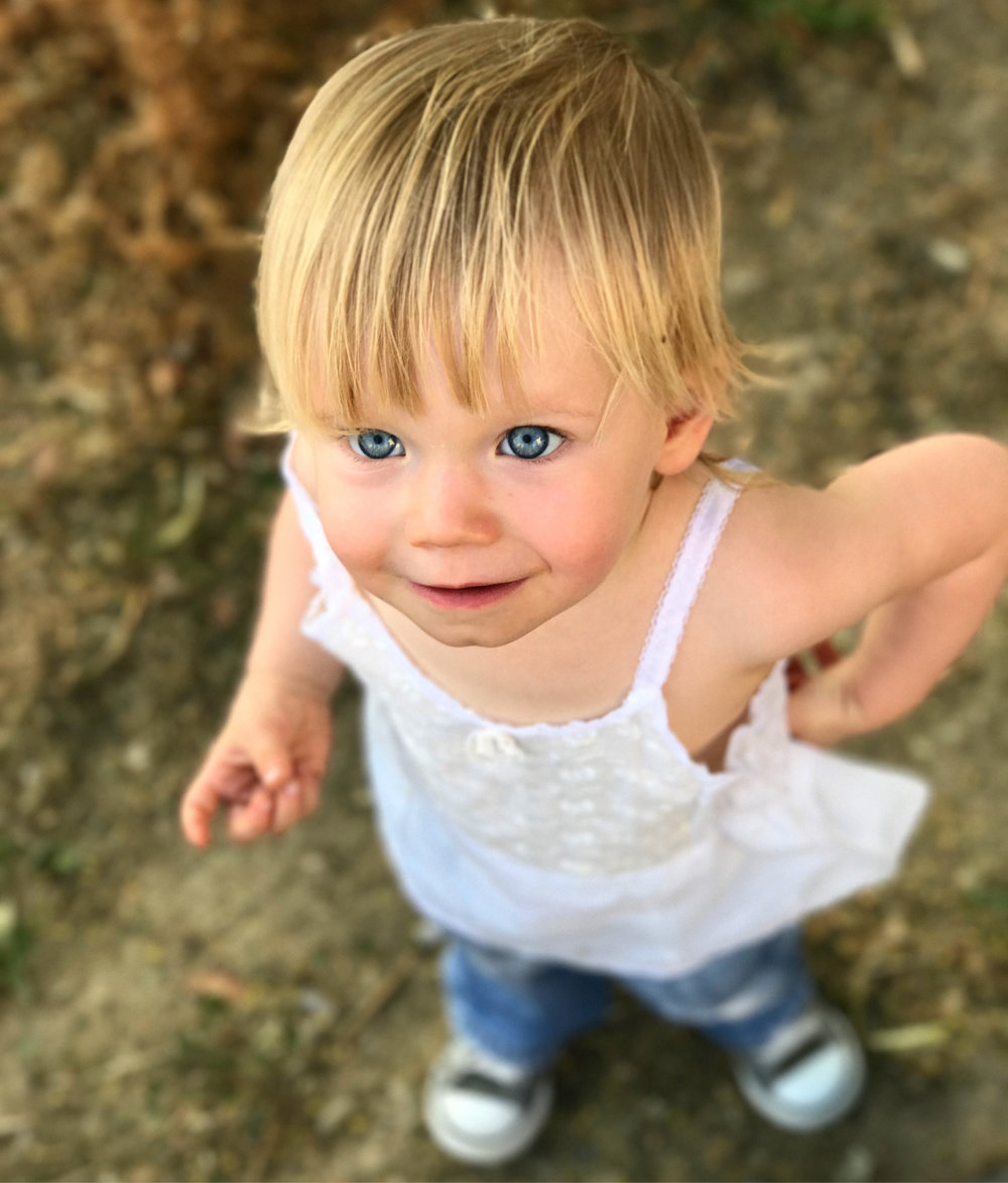Beautiful toddler