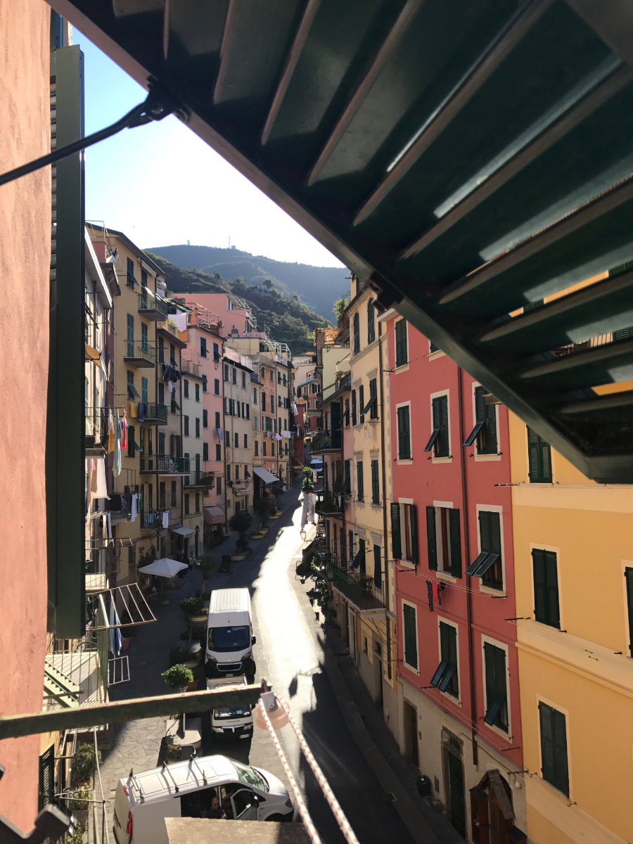 Steep streets of Cinque Terre, a.ka. 5Terre.